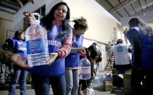 """Rancagua se suma a campaña """"Nuestro norte, nuestra ayuda"""""""