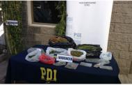 PDI incauta gran cantidad de marihuana en pleno centro de Rancagua
