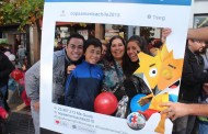 La fiesta de la Copa América se tomó nuevamente el centro de Rancagua