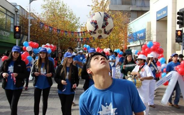 Con ambiente de fiesta se prepara Rancagua para recibir la Copa América