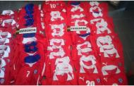 Incautan camisetas falsificadas de la Selección Chilena en Rancagua