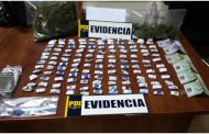 Vendía marihuana frente a la Municipalidad de San Vicente