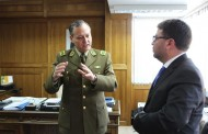 Carabineros realiza visita protocolar a nuevo Intendente de la Región de O'Higgins