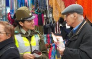 Carabineros de Rancagua realiza campaña para evitar estafas y robos a adultos mayores