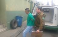 Carabineros detiene a autor de homicidio en Graneros