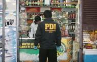 Encapuchados armados con armas de fuego y cuchillos protagonizan violento asalto a botillería en Rancagua