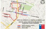 Nuevo corte de tránsito en Av. Membrillar se extenderá por 18 días