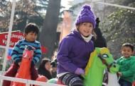 Cientos de niños repletaron la Plaza de Los Héroes para festejar en grande su día