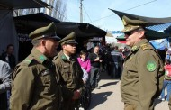 In situ: General de la VI Zona de Carabineros supervisó operativo por Festividad de Santa Rosa de Pelequén