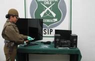 Detenidos sujetos que robaron en Condominio de Machalí