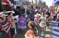 Rancagua comenzó los festejos de Fiestas Patrias en la tradicional Calle del Huaso