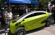 """Sôki"" Primer Auto Eléctrico Chileno recorrió las calles de Rancagua"