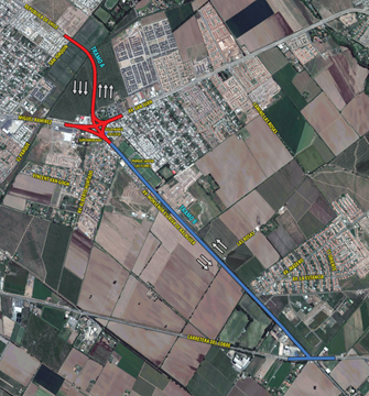 Avanza diseño de doble calzada que unirá avenidas República de Chile y Escrivá de Balaguer