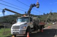 Masivo corte de energía eléctrica afecta a varias comunas de la región de O'Higgins