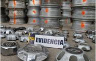 Especialistas en robar llantas y neumáticos fueron detenidos con más de 84 millones de pesos en especies
