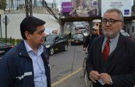 Autoridades anuncian moderna doble vía en Avenida Baquedano de Rancagua