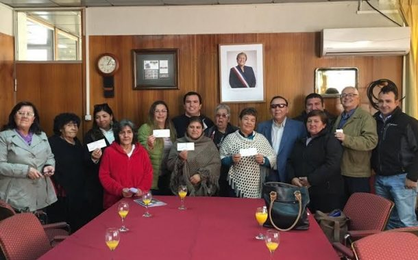 Municipio de Rancagua entregó recursos que  permitirán financiar anhelados proyectos sociales