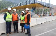 En Septiembre estará operativa la nueva plaza de peaje en Angostura