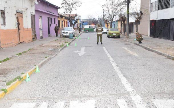 Desconocidos balean casa y automóvil en pleno centro de Rancagua