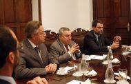 Rector Correa expuso avances de la Universidad ante diputados de la región
