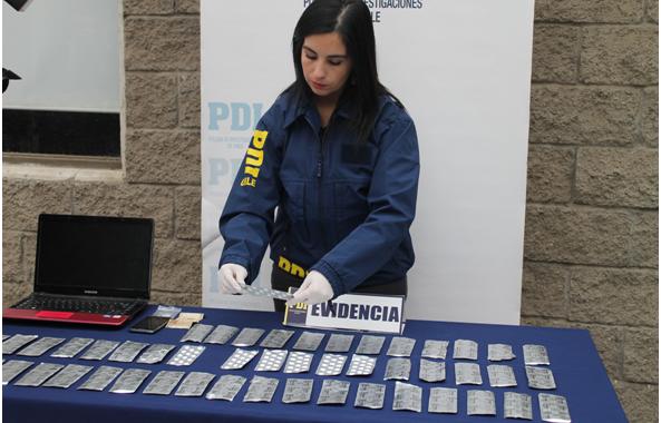 PDI Incauta 700 pastillas abortivas en Rancagua