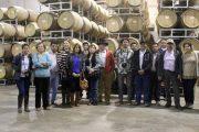 Viñateros de Quillón realizaron viaje de familiarización por viñas de Colchagua y Cachapoal