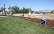 Un 70% de avance presenta la construcción del Parque La Victoria de Rancagua