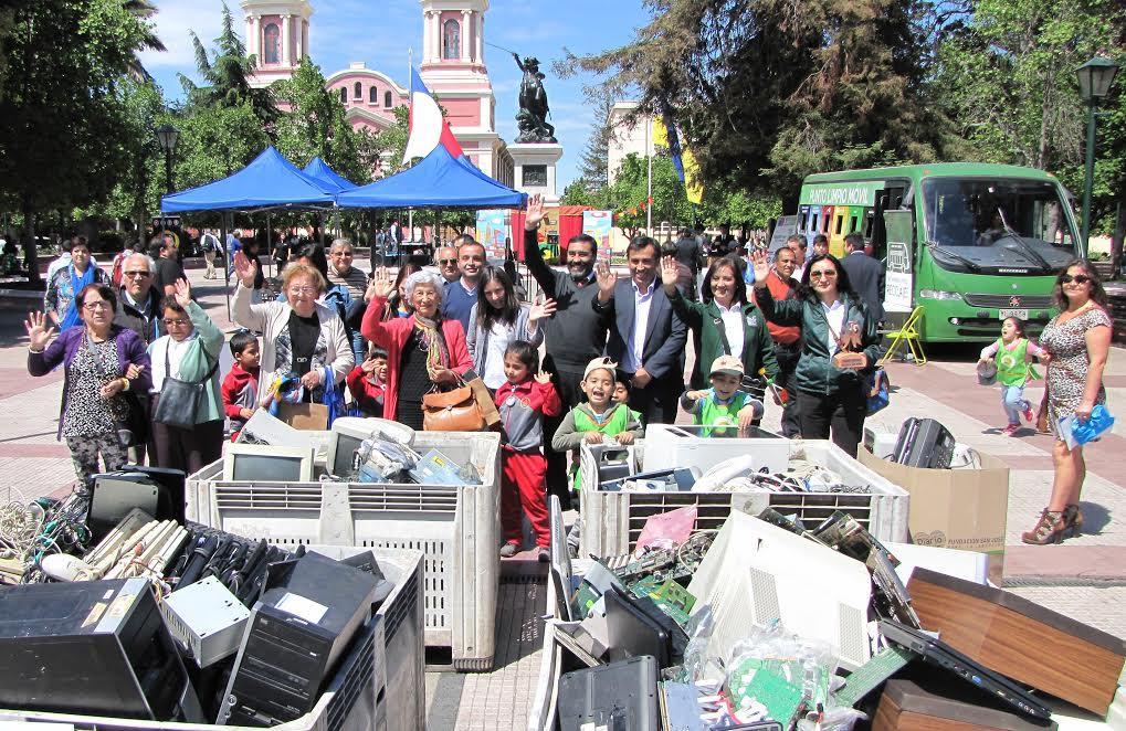 15 toneladas de residuos fueron recolectados durante la Primera Feria Regional de Reciclaje Electrónico