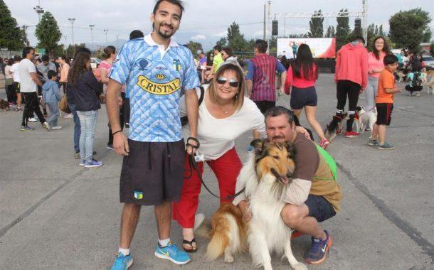 Rancagüinos disfrutaron entretenida jornada deportiva junto a sus mascotas