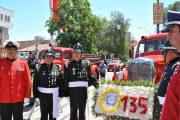 Bomberos de Rancagua celebró sus 135 años de vida