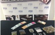 PDI detiene a madre e hijo por tráfico de drogas