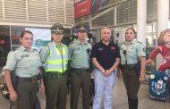 Carabineros junto a Servicio Automotriz León entregaron balance de vacaciones de verano