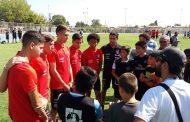 """La """"Roja"""" Sub 17 participó en encuentro motivacional con la Escuela Municipal de Fútbol de Rancagua"""