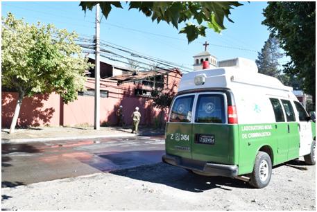 Nuevo Incendio afecta al Pequeño Cottolengo en Rancagua