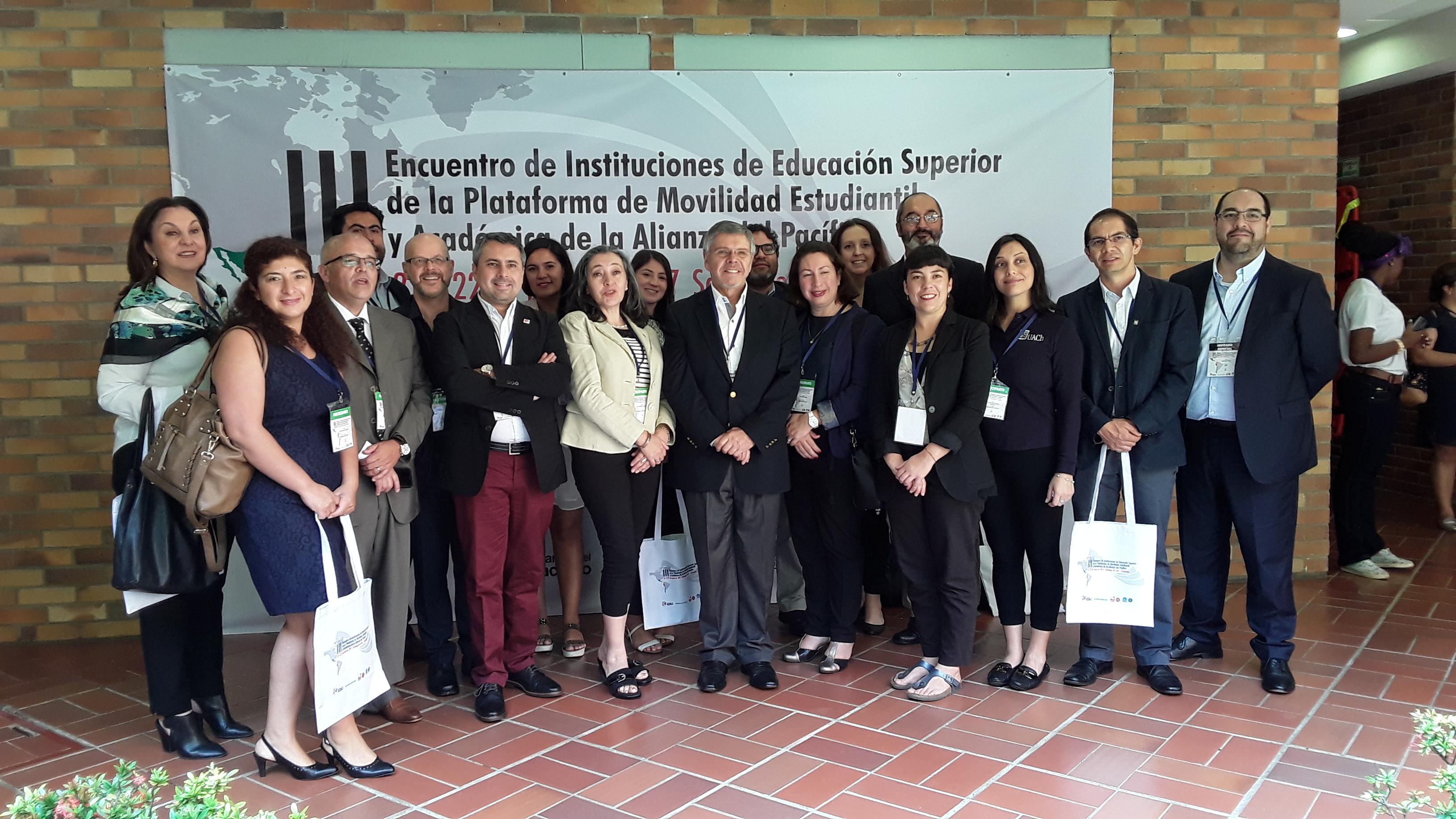 UOH participa en III Encuentro de Instituciones de Educación Superior sobre movilidad estudiantil y académica de la Alianza del Pacífico en Colombia