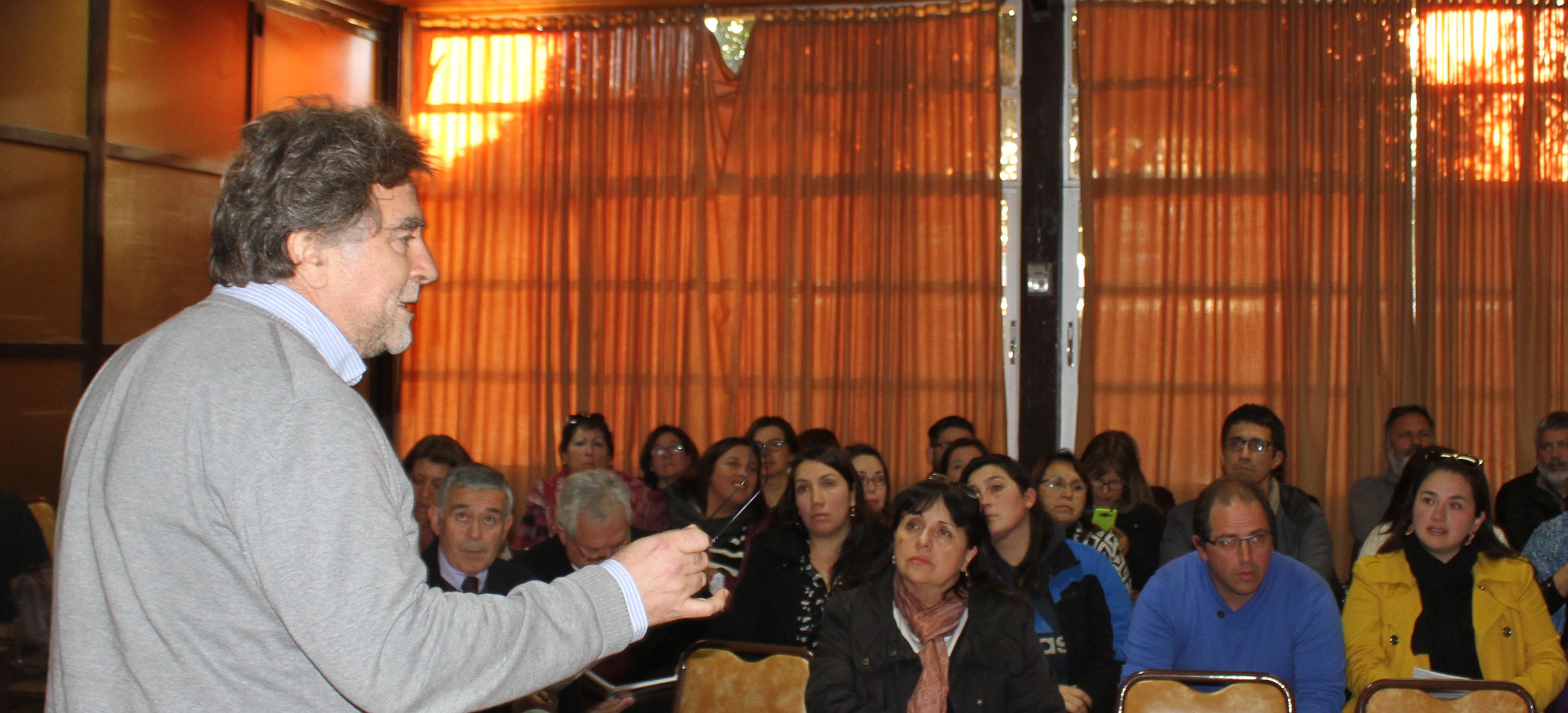 Directores de establecimientos de Rengo conocen en profundidad el proyecto ARPA