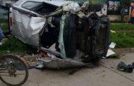 Rancagua: Un fallecido en persecución policial que terminó en volcamiento
