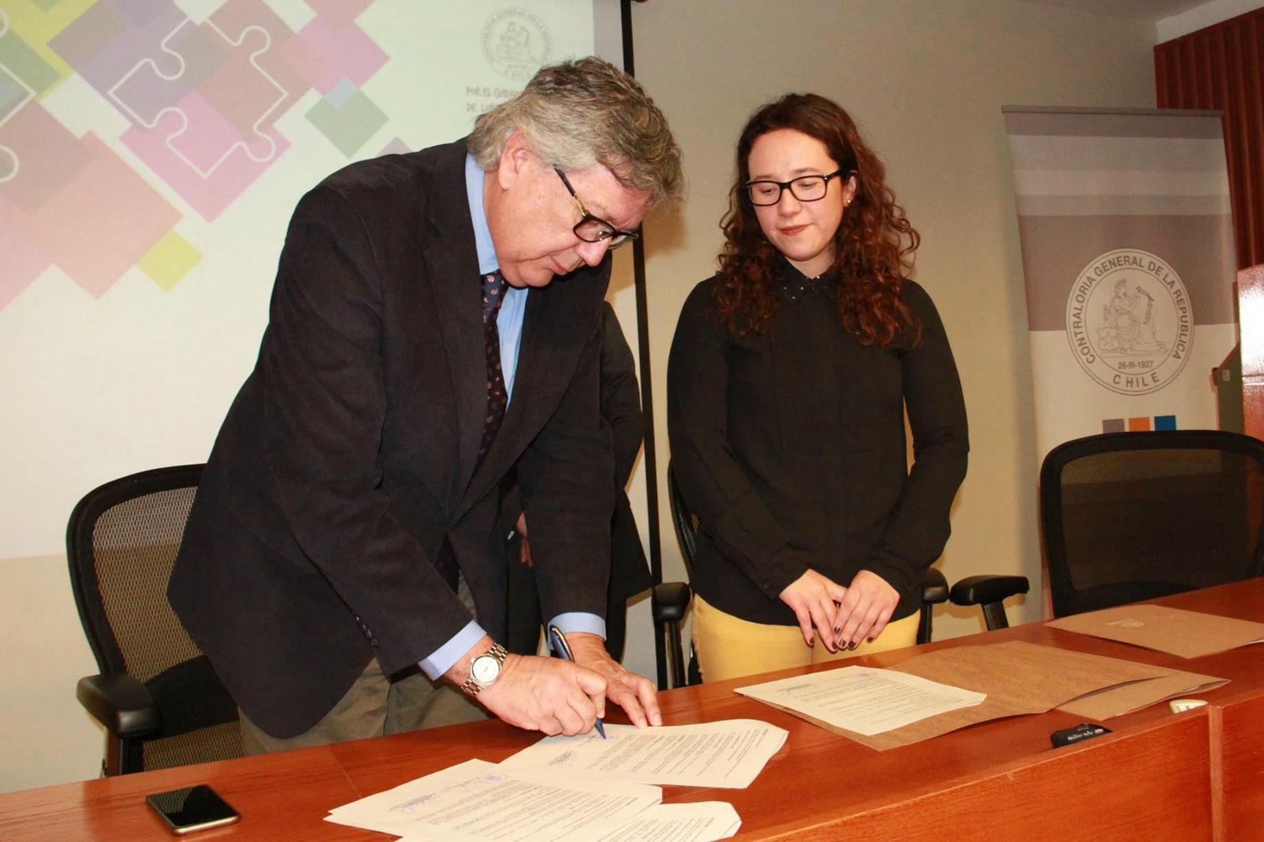 Rancagua firma acuerdo con Contraloría para fortalecer y transparentar gestión municipal