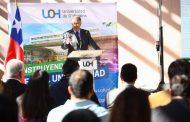 Rector Rafael Correa destacó avances de la Universidad de O'Higgins en su primera Cuenta Pública