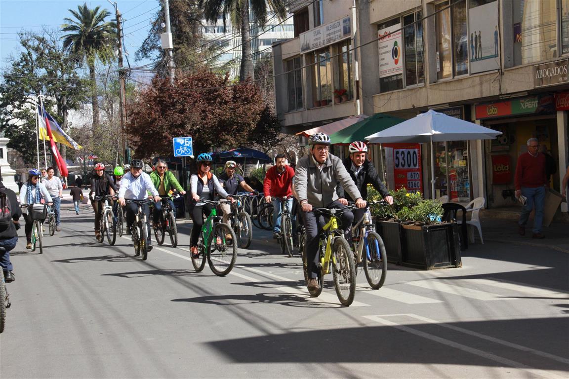 Rancagua compartirá su exitosa experiencia en encuentro de movilidad sostenible