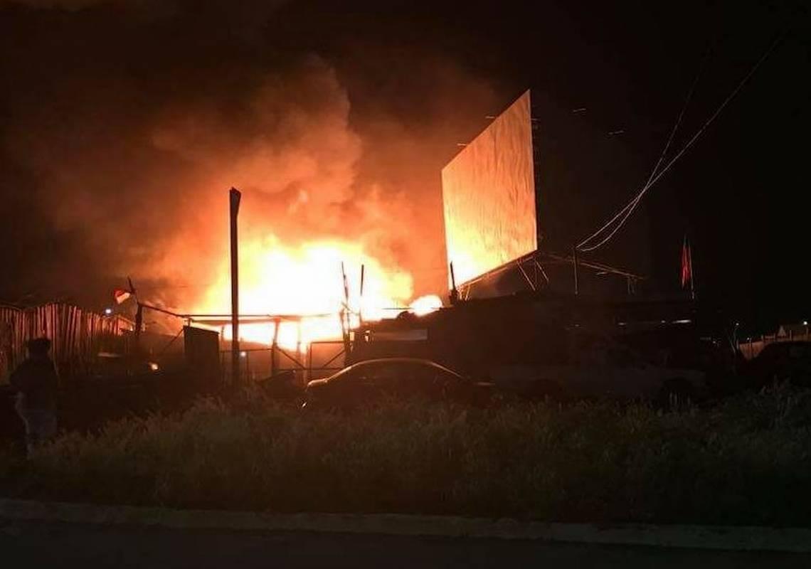 Dos muertos y más de 40 damnificados dejó voraz incendio en Rancagua