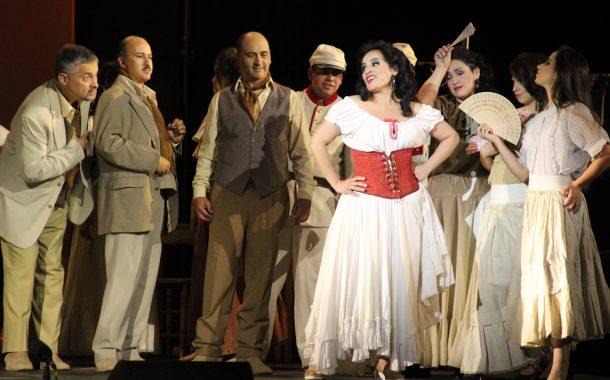 Exitosas funciones de Ópera Carmen en Rancagua: Asistieron alrededor de 14 mil personas