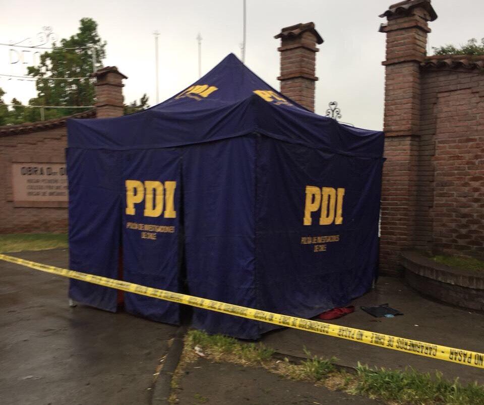Hombre fue encontrado muerto en las afueras del Pequeño Cottolengo en Rancagua