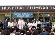 Presidenta Bachelet inauguró Hospital de Chimbarongo en visita a la Región de O'Higgins