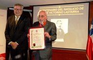 Académico Jorge Nawrath recibe premio José Victorino Lastarria en Rancagua