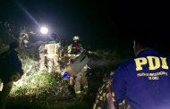 Pumanque: Trabajador forestal fallece tras fallar la maquinaria que manejaba cerca de una pendiente