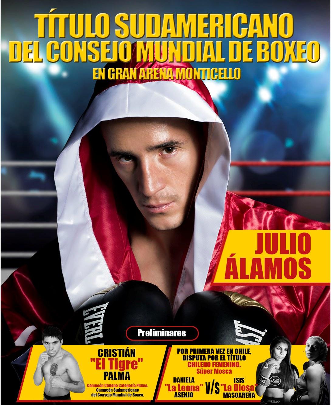 El Título Sudamericano del Consejo Mundial De Boxeo se disputará en Sun Monticello