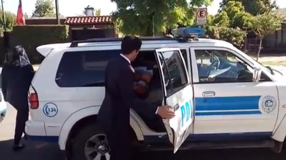 PDI Detiene a ex trabajadores por robo a obra de construcción en Rancagua