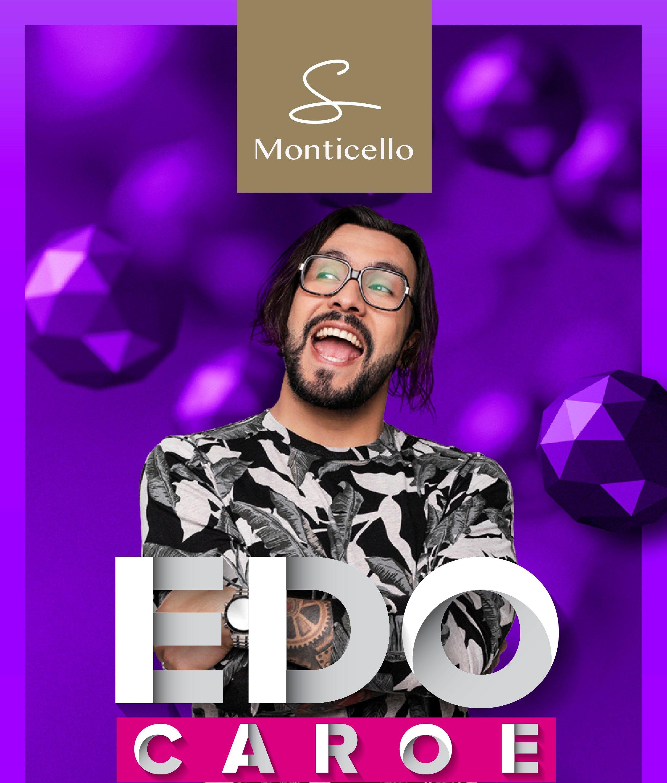 Edo Caroe presenta su nuevo show: Ensayo General