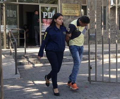PDI detiene en pleno robo a dos sujetos tras violento asalto en Rancagua
